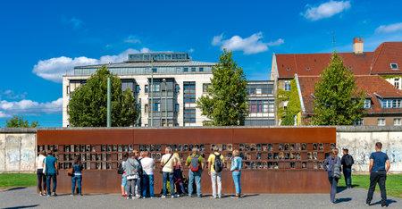 Wall Memorial in Berlin