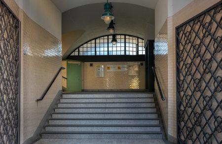 stairs to the platform Editöryel
