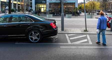 Pedestrians in traffic