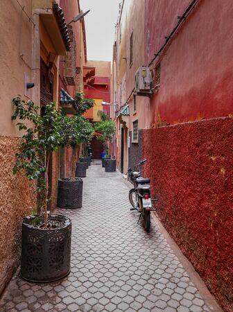 Alley in Marrakech