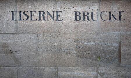 The Iron Bridge at the Berlin Museum Island