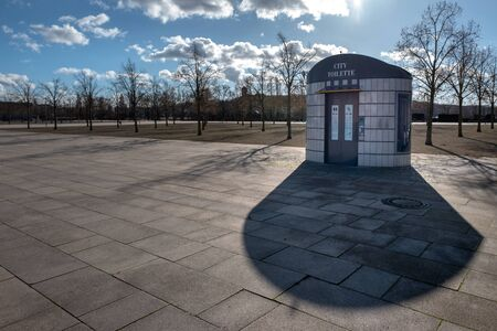 Toilet house in Potsdam