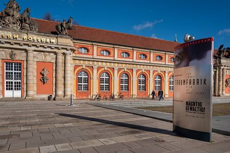 Facade of the Potsdam Film Museum