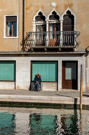 Senior in Venice