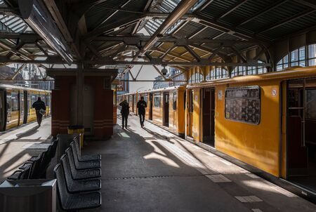 Subway Warschauer Strasse in Berlin, Germany