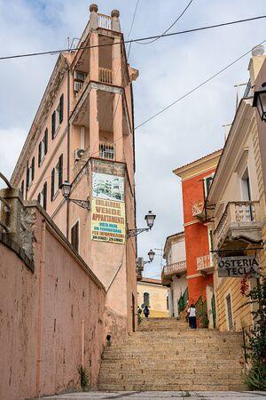 Corner house in Sardinia