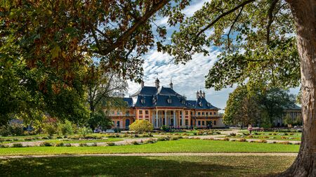 Castle pillnitz near Dresden in Saxony
