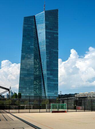 The ECB in Frankfurt