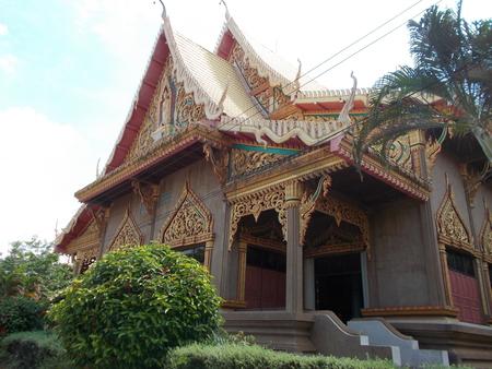 mahasarakham: Buddhistic temple in Mahasarakham, Thailand
