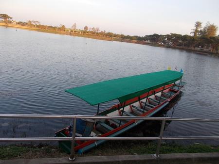 nakhon: Nong Han lake in Sakon Nakhon, Thailand.