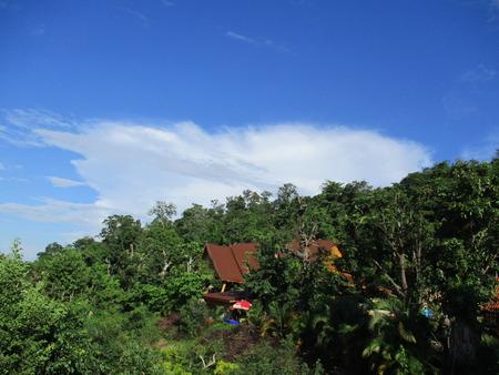 nakhon: Phu Phan mountain at Sakon Nakhon, Thailand