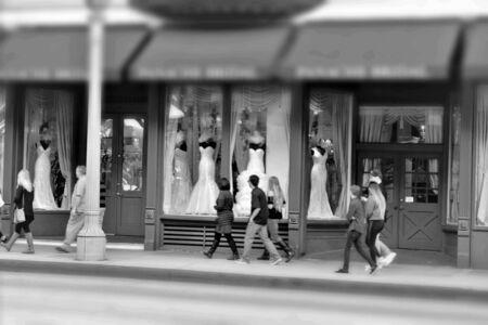 apparel: Bridal shop