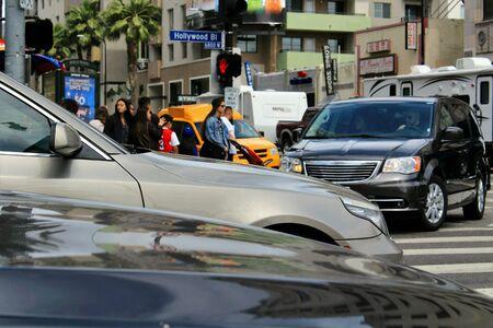 trafficlight: street view Stock Photo