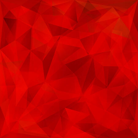 Vector abstract bright red crystal geometric background Ilustrace
