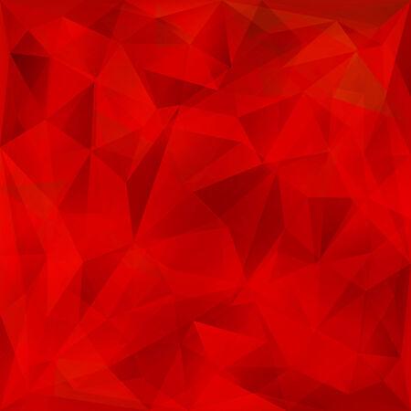 Vector abstracte heldere rode kristal geometrische achtergrond Stock Illustratie
