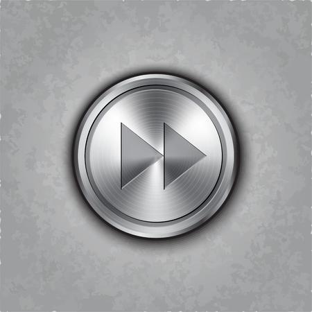 round fast forward  rewind knob on textured