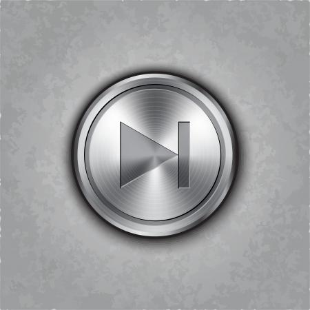 textured:  round forward  button on textured