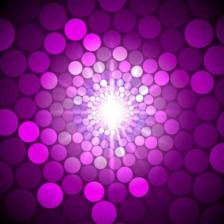 voilet: Vector abstract bright purple background with circles of light