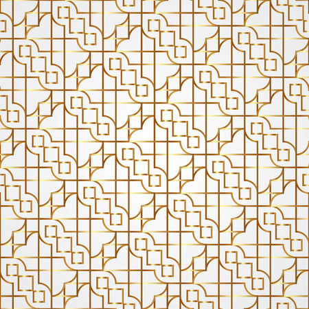 islamic pattern: abstract geometric seamless pattern with ethnic ornament