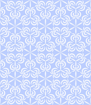 abstract geometric pale blue seamless pattern