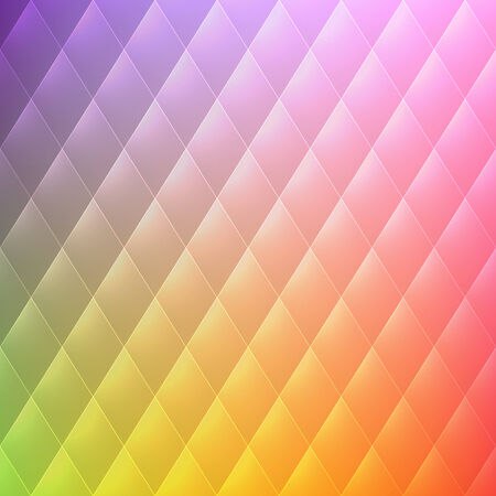abstract rhombus geometrical color beautiful background Illustration
