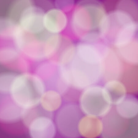 Vector abstract pink background with bokeh light effects