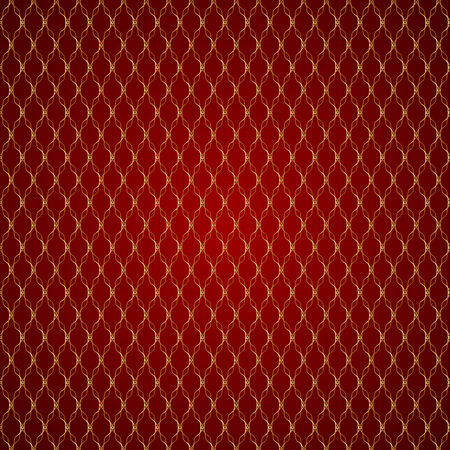 grid pattern: abstract red geometric seamless pattern with gold grid