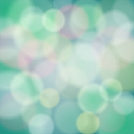 Vector abstract background with bokeh color light effects