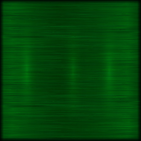 brushed: abstract brushed green metal texture background