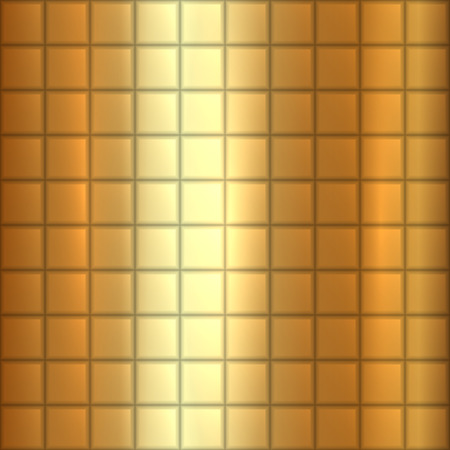 alloy: abstract gold texture background with squares Illustration