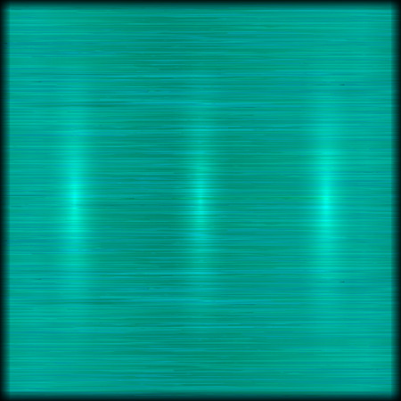 brushed: abstract brushed turquoise blue metal texture background
