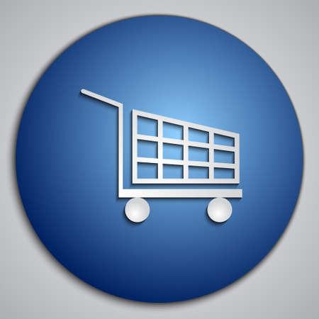 blue Cart button