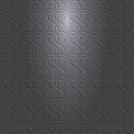 gray pattern: dark gray or black background with pattern and light source