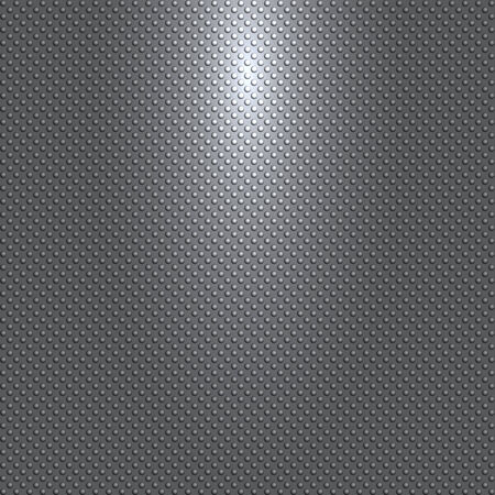 light source: dark gray or black background with spheres pattern and light source Illustration