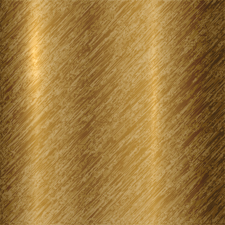 titanium: Vector abstract metallic bronze background with scratches