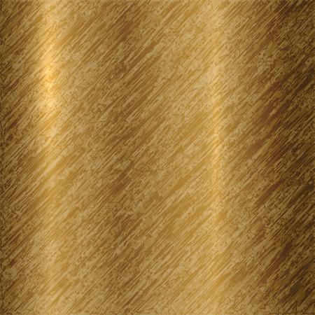 titanium: Vector abstract metallic bronze background with scratches