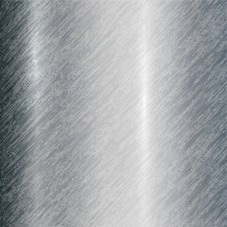 titanium: Vector abstract metallic steel background with scratches Illustration