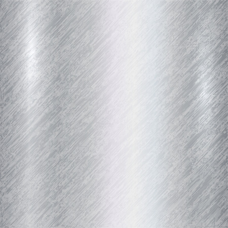 Vector abstract metallic silver background with scratches