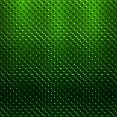 六角形のグリルと抽象的なシームレスな金属パターン  イラスト・ベクター素材
