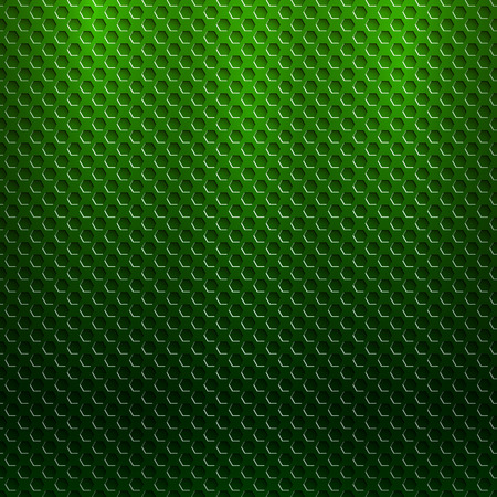 grille: abstract seamless metallic pattern with hexagon grille Illustration
