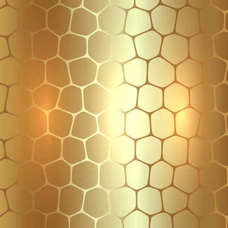 metallic: abstract golden metallic background with polygons
