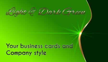 Business cards and company style
