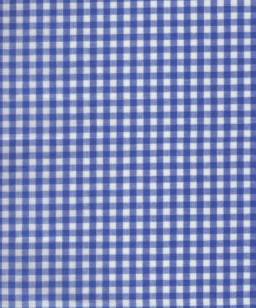 Blue Plaid Fabric photo