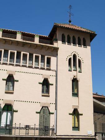 Art Deco Style building Vic Stock Photo