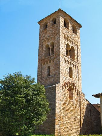 Old Church in Espinelles, Catalunya, Spain