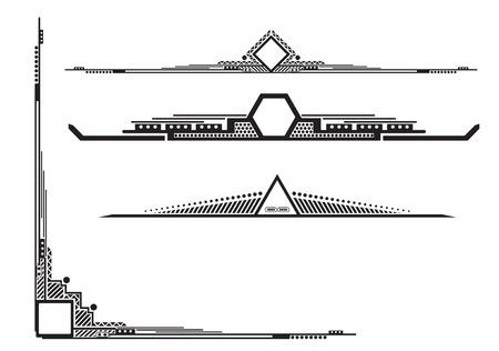 acute angle: esquina con divisores decorativos modelos industriales