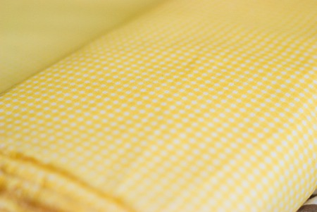 polka dot fabrics as a sewing background