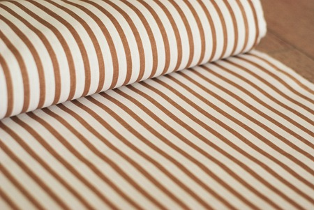 texture of fabric with vertical stripes Foto de archivo - 123048945