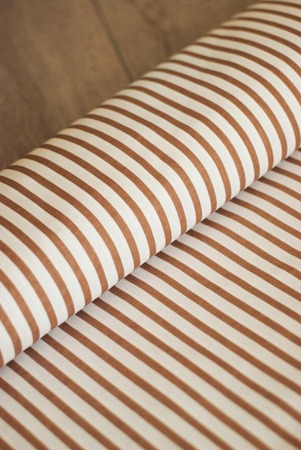 texture of fabric with vertical stripes