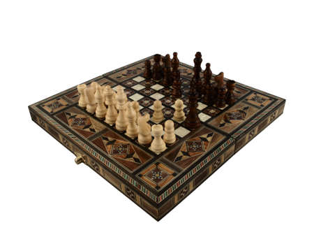piecies: A traditional chess set from Turkey